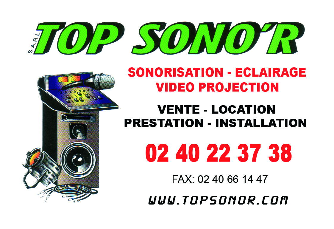 Carte De Visite Top Sonor Recto